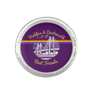 Halifax Dartmouth best friends N.S. ring