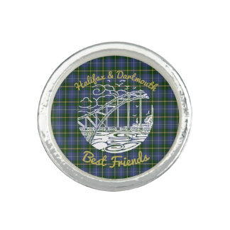 Halifax Dartmouth best friends N.S. ring  tartan