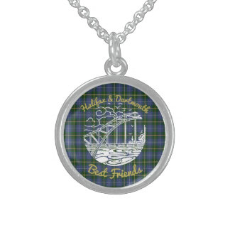 Halifax Dartmouth best friends  necklace   tartan