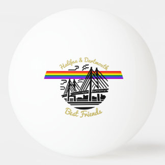 Halifax Dartmouth best friends ping pong ball