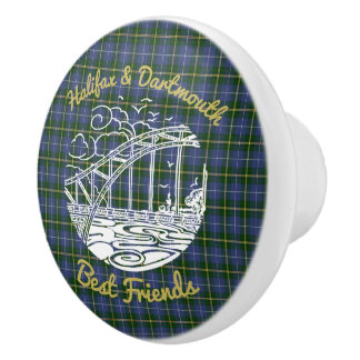 Halifax Dartmouth  Friends drawer pull tartan