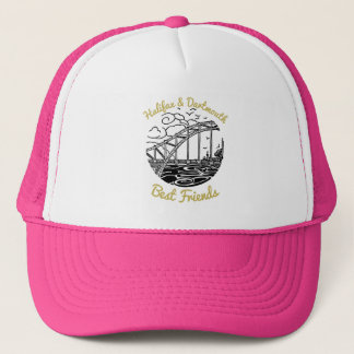 Halifax Dartmouth N.S. Best Friends hat pink