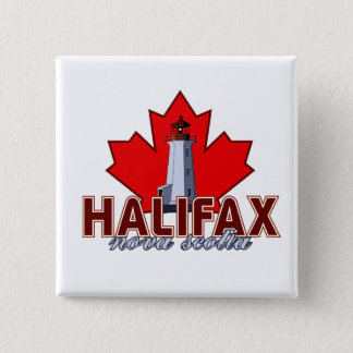 Halifax Lighthouse 15 Cm Square Badge