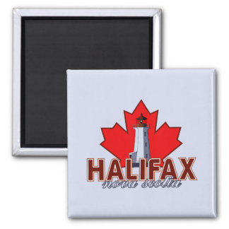 Halifax Lighthouse Square Magnet