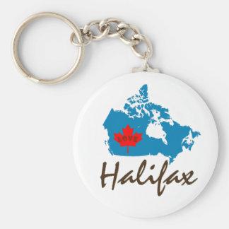 Halifax Nova Scotia  Customize Canada keychain