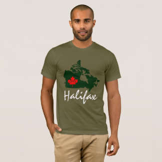 Halifax Nova Scotia  Customize Canada  shirt