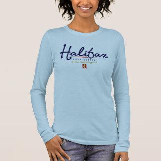 Halifax Script Long Sleeve T-Shirt