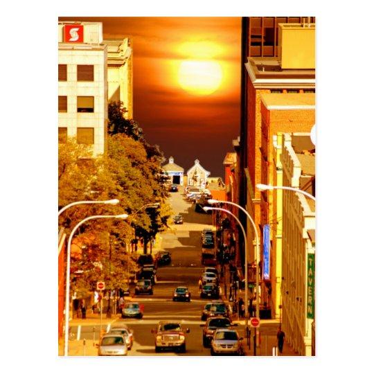 Halifax street postcard