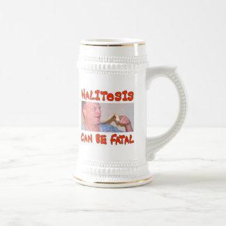 HALITOSIS BEER STEINS
