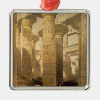 "Hall of Columns, Karnak, from ""Egypt and Nubia"", V Christmas Ornament"