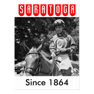 Hall of Fame Jockey Alex Solis Postcard