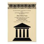 Hall of Justice Graduation Party Invitation