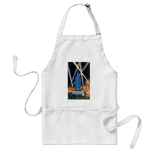 Hall of Science, Chicago Worlds Fair Standard Apron