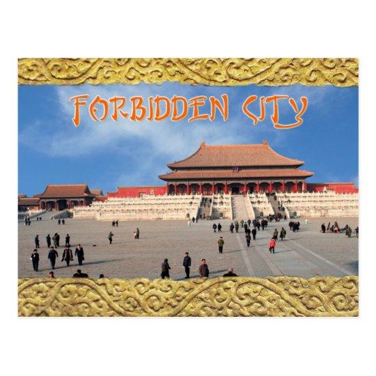 Hall of Supreme Harmony, Forbidden City, China Postcard