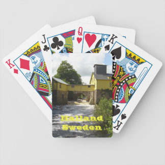 Halland Sweden Bicycle Poker Deck