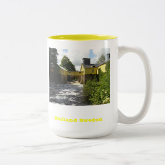 Halland Sweden Two-Tone Mug