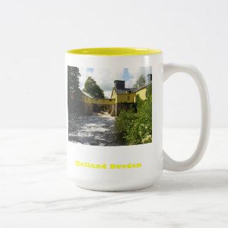 Halland Sweden Two-Tone Mug