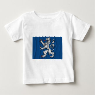 Hallands län waving flag baby T-Shirt