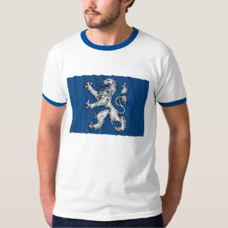 Hallands län waving flag T-Shirt