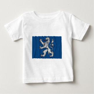 Hallands län waving flag t-shirts