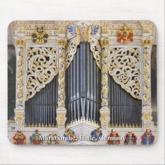Halle organ mousepad