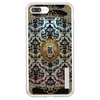 Halleesham Pattern vii Elegant Monogram Incipio DualPro Shine iPhone 8 Plus/7 Plus Case