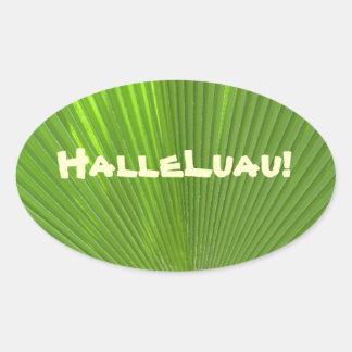 Halleluau!_Hawaiian Tropical Themed Party sticker