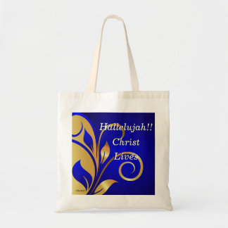 Hallelujah Christ Lives Tote Bag