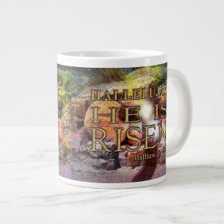 Hallelujah! He is RISEN! Jumbo 20 Oz. Coffee Mug Jumbo Mug