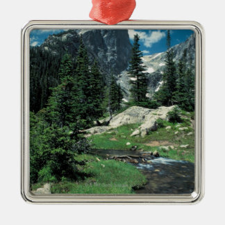 Hallett Peak , Rocky Mountain National Park , Christmas Ornament