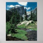 Hallett Peak , Rocky Mountain National Park , Poster