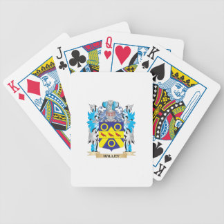 Halley Coat of Arms - Family Crest Deck Of Cards