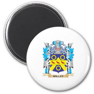Halley Coat of Arms - Family Crest Magnet