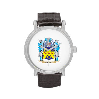 Halley Coat of Arms - Family Crest Watches