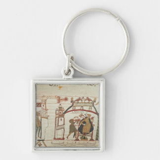 Halley s Comet and Harold Receiving Bad News Key Chains