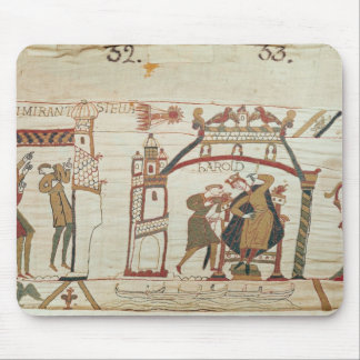 Halley s Comet and Harold Receiving Bad News Mouse Pad