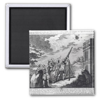 Halley s Comet Observed in 1759 by Cassini III Refrigerator Magnet