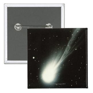 Halleys Comet 15 Cm Square Badge
