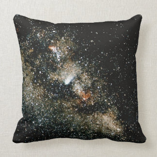 Halleys Comet  in the Milky Way Pillow