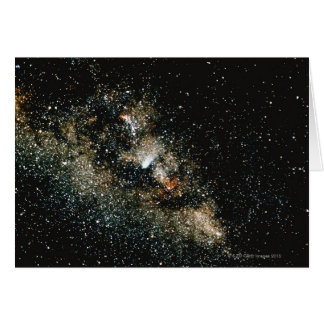 Halleys Comet  in the Milky Way Greeting Card