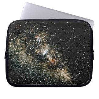 Halleys Comet  in the Milky Way Laptop Computer Sleeves