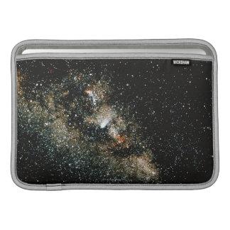 Halleys Comet  in the Milky Way MacBook Sleeves
