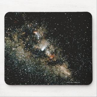 Halleys Comet in the Milky Way Mousepads