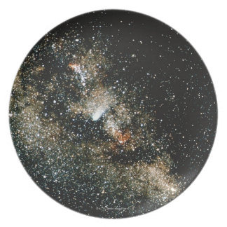 Halleys Comet  in the Milky Way Plates