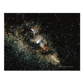 Halleys Comet  in the Milky Way Postcard