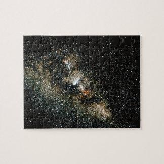 Halleys Comet  in the Milky Way Jigsaw Puzzles