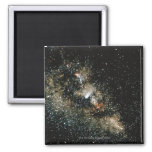 Halleys Comet  in the Milky Way Square Magnet