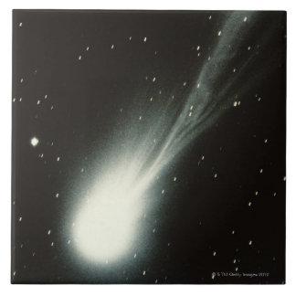 Halleys Comet Large Square Tile