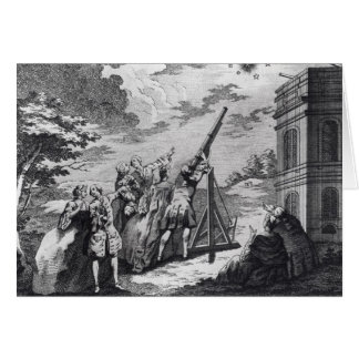 Halley's Comet Observed in 1759 by Cassini III Greeting Card