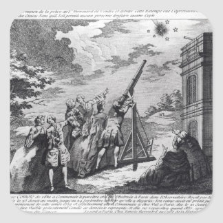 Halley's Comet Observed in 1759 by Cassini III Stickers
